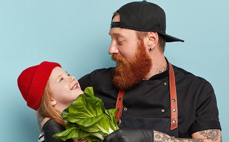 <b>Des légumes et des enfants</b> : téléchargez notre nouveau livret <b>Nutrition & Santé</b>, en partenariat avec l'Institut Paul Bocuse